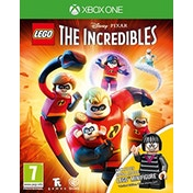 Lego The Incredibles Mini-Fig Edition Xbox One Game (Edna Mode Figurine)