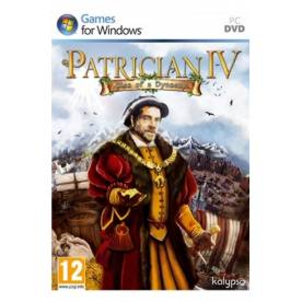 Patrician IV 4 Rise of A Dynasty Expansion Pack Game PC