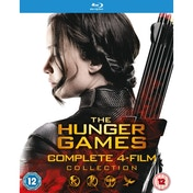 The Hunger Games Complete Collection Blu-ray