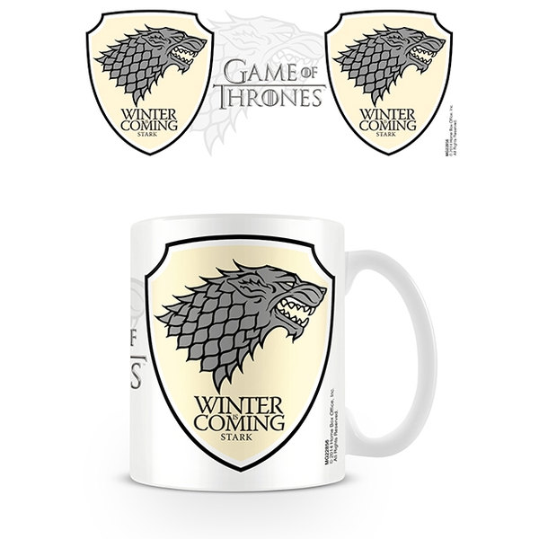 Game of Thrones - Stark Mug (white)
