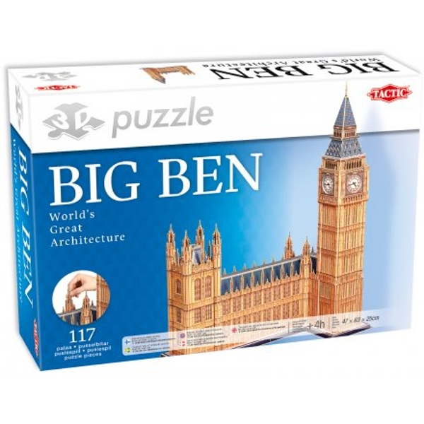 Big Ben 117 Piece 3D Jigsaw Puzzle