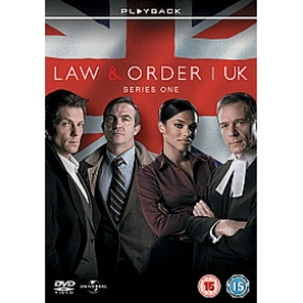 Law And Order U.K. Series 1 DVD
