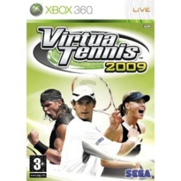 Ex-Display Virtua Tennis 2009 Game Xbox 360 Used - Like New