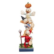 Halloween Stacked Huey, Dewey and Louie Disney Traditions Figurine