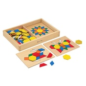 Melissa & Doug Pattern Blocks and Boards (10029)