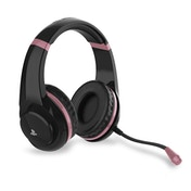 4Gamers PRO4-70 Rose Gold Edition Stereo Gaming Headset (Black) for PS4