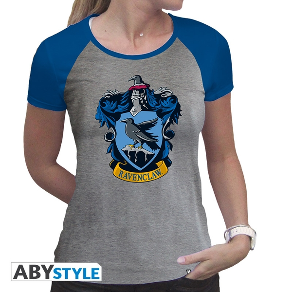 Harry Potter - Ravenclaw Women'S X-Large T-Shirt - Grey/Blue