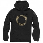 The Elder Scrolls Online Ouroboros Symbol Hoodie Large Black