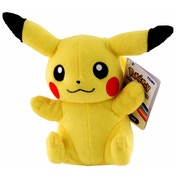 Pokemon Sitting Pikachu 8 Inch Plush Toy