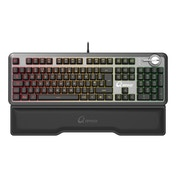 Qpad - MK-95 - Pro Gaming Mechanical Switchable Optical Switch Keyboard (Silver/Black)