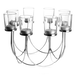 8 Tea Light Candle Holder | M&W Chrome - Image 3