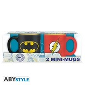 Dc Comics - Batman & Flash Espresso Mugs