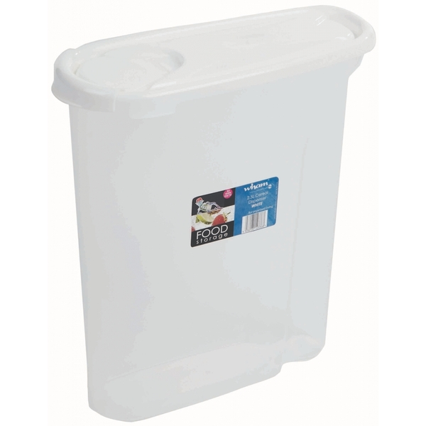 Wham Cereal Dispenser Food Storage 2.5L White