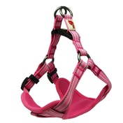 Long Paws Pink Comfort Collection Padded Harness L