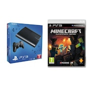 12GB SUPER SLIM Console System Black PS3 with Minecraft