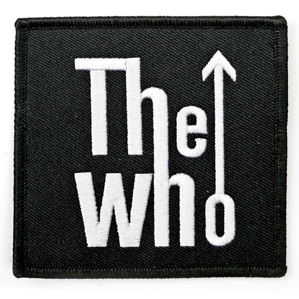 The Who - Arrow Logo Standard Patch