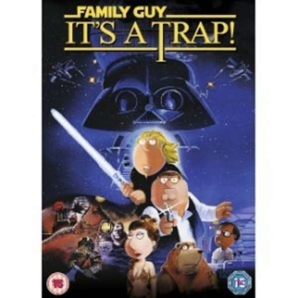 Family Guy Presents: It's A Trap DVD