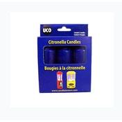 UCO Orig/Cand 3pk Citronella 9 Hour Candles