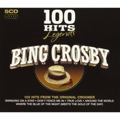 100 Hits Legends - Bing Crosby CD