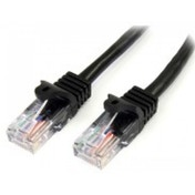 StarTech Cat5e Patch Cable with Snagless RJ45 Connectors 5 m Black