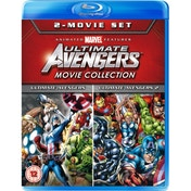 Ultimate Avengers/Ultimate Avengers 2: Rise Of The Panther Blu-ray