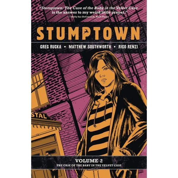 Stumptown: Volume 2: Case Of Baby Velvet Case
