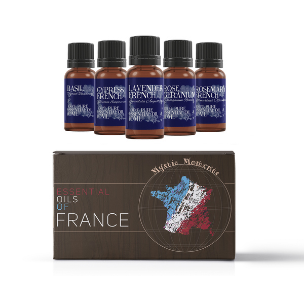 Mystic Moments Oils Of France Essential Oils Gift Starter Pack