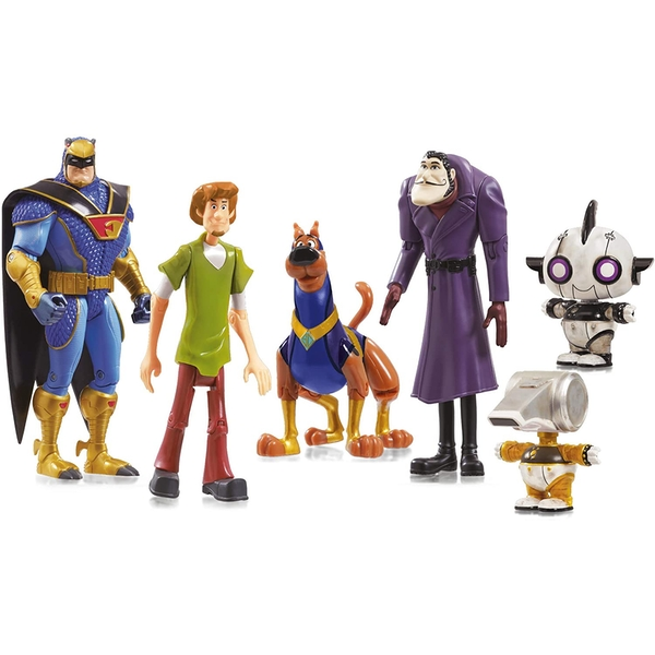 Scooby Doo 5-Figure Pack