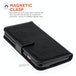 Caseflex iPhone 6 / 6s Real Leather ID Wallet Case - Black - Image 2