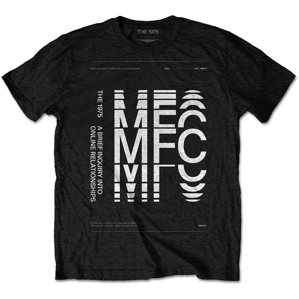 The 1975 - ABIIOR MFC Men's XX-Large T-Shirt - Black