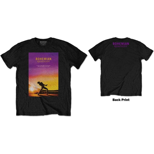 Queen - Bohemian Rhapsody Men's X-Large T-Shirt - Black