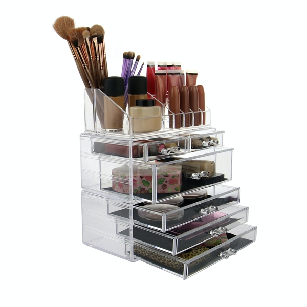 6 Drawer Acrylic Make-Up Organiser | Pukkr