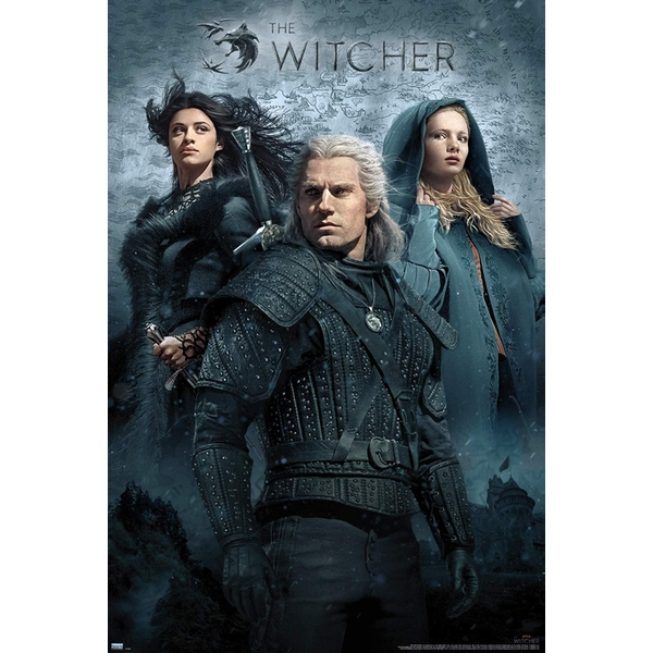 The Witcher TV Key Art Maxi Poster