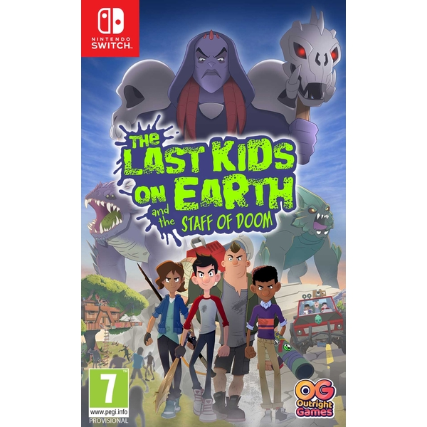 The Last Kids on Earth and the Staff of Doom Nintendo Switch Game