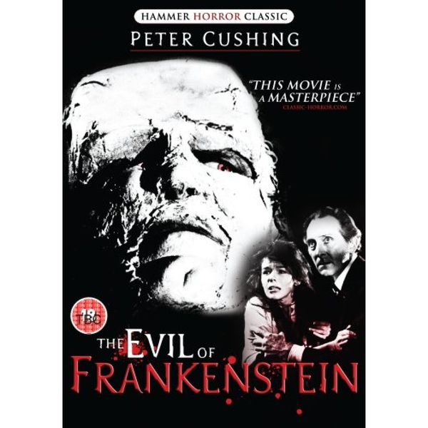 evil of frankenstein DVD