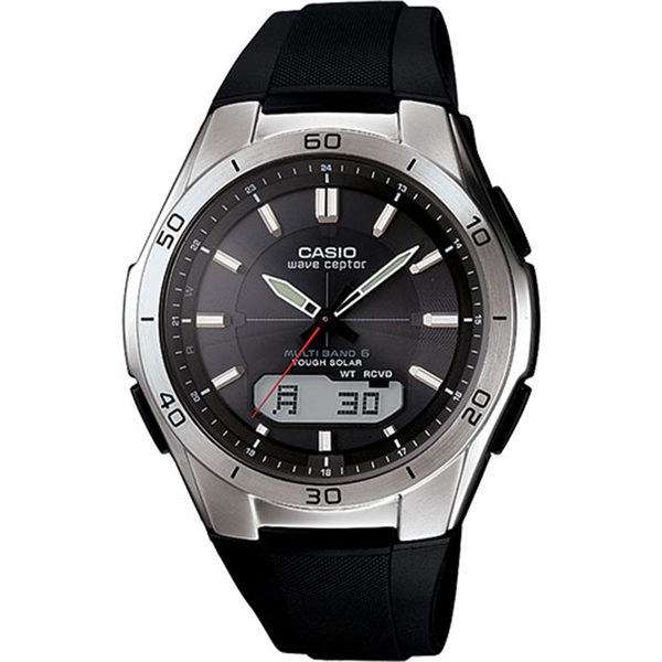 Casio WVAM640/1A Wave Ceptor Men's Solar Powered Radio Controlled Watch