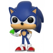 Sonic with Emerald (Sonic) Funko Pop! Vinyl Figure