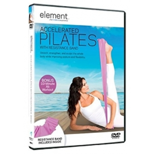 Element: Accelerated Pilates With Resistance Band DVD