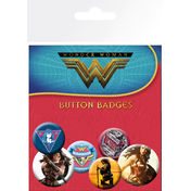 Wonder Woman Movie Mix Badge Pack