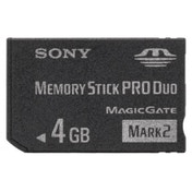 Sony - Flash memory card - 4 GB - Memory Stick PRO Duo Mark2 MSMT4GN