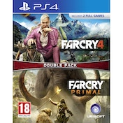 Far Cry 4 & Far Cry Primal Double Pack PS4 Game