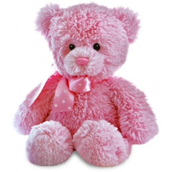 Yummy Bear Soft Toy - Pink 12in