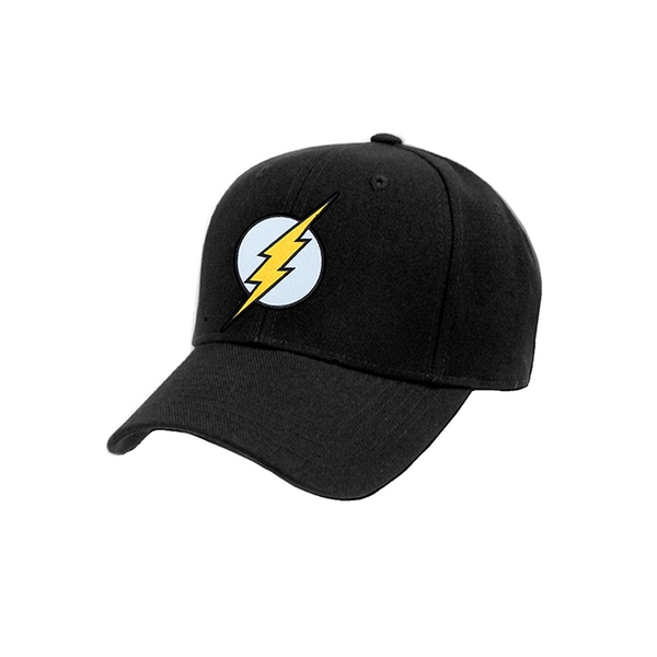 The Flash - Logo Cap Black