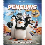 Penguins of Madagascar Blu-ray