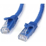 StarTech 15m Blue Gigabit Snagless RJ45 UTP Cat6 Patch Cable