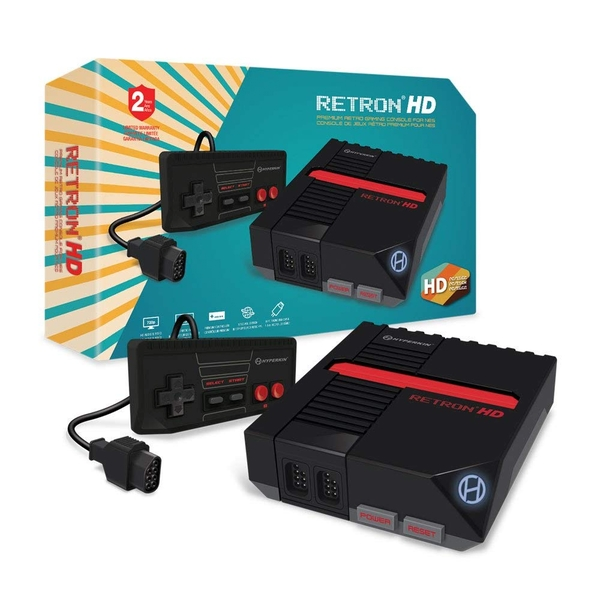 RetroN HD Black Console for NES Cartridges - Image 1