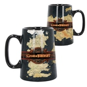 Ceramic Map (Game Of Thrones) Tankard