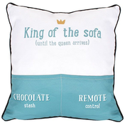 King of the Sofa Cushion