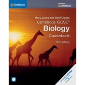 Cambridge IGCSE (R) Biology Coursebook with CD-ROM by Geoff Jones, Mary Jones (Mixed media product, 2014)