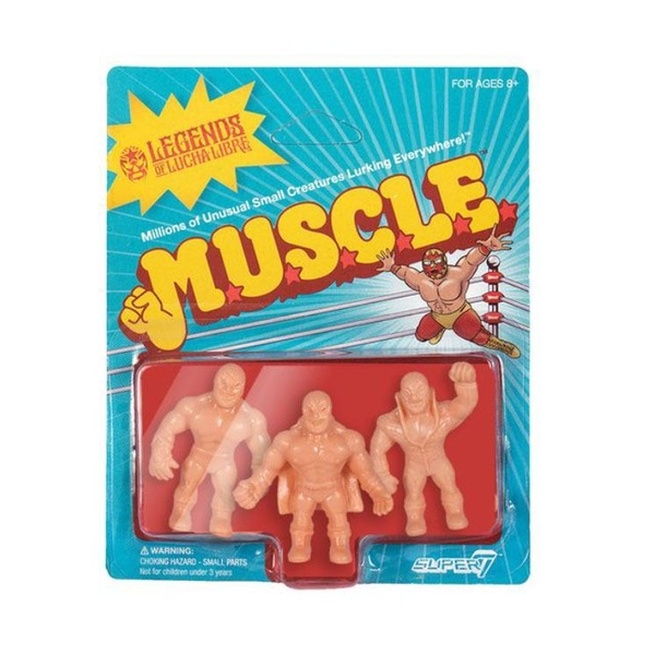 SUPER7 Legends of Lucha Libre Figures Wrestling